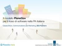 In linea sul portale di PloneGov Italia una presentazione in formato slide